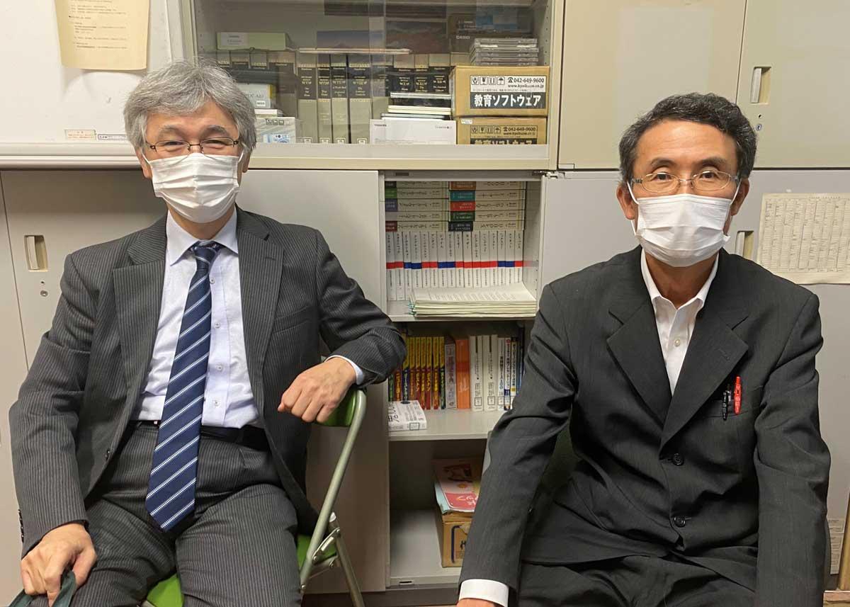 釧路高専 片岡務先生 林幸利先生